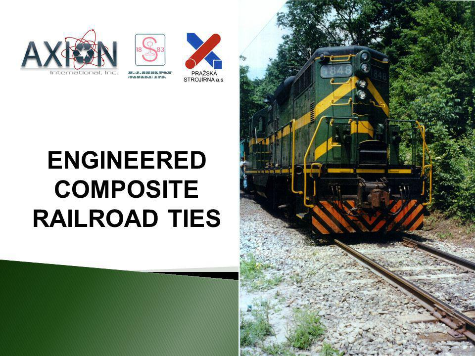 ENGINEERED COMPOSITE RAILROAD TIES