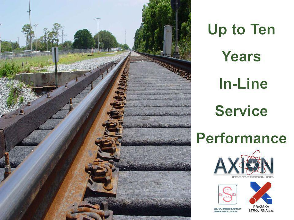Up to Ten Years In-Line Service Performance