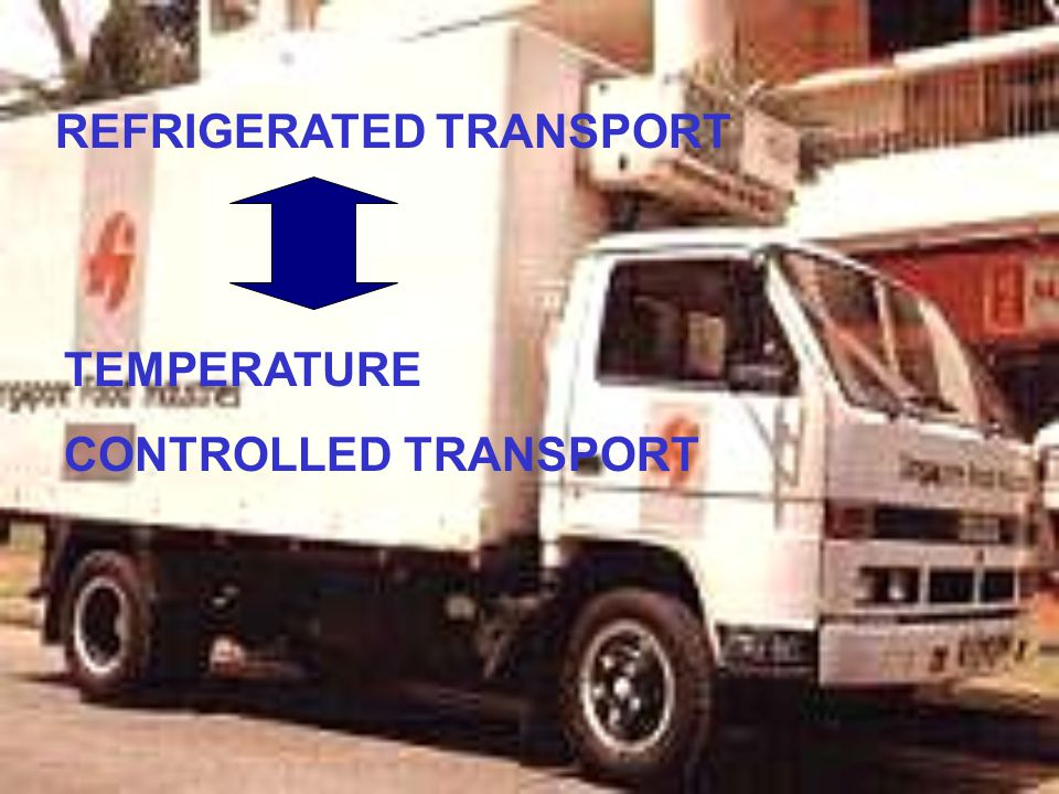 REFRIGERATED TRANSPORT TEMPERATURE CONTROLLED TRANSPORT