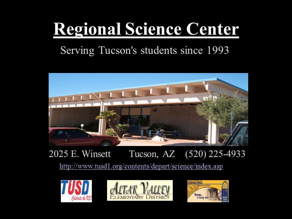Regional Science Center 2025 E.