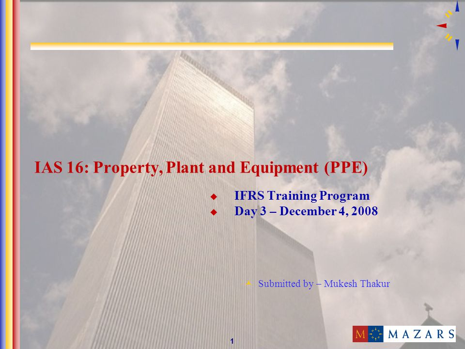 12 Solution Particulars Cost -Cost of the plant Rs.