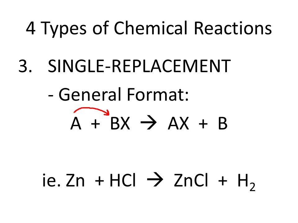 Zn + HCl ZnCl + H 2