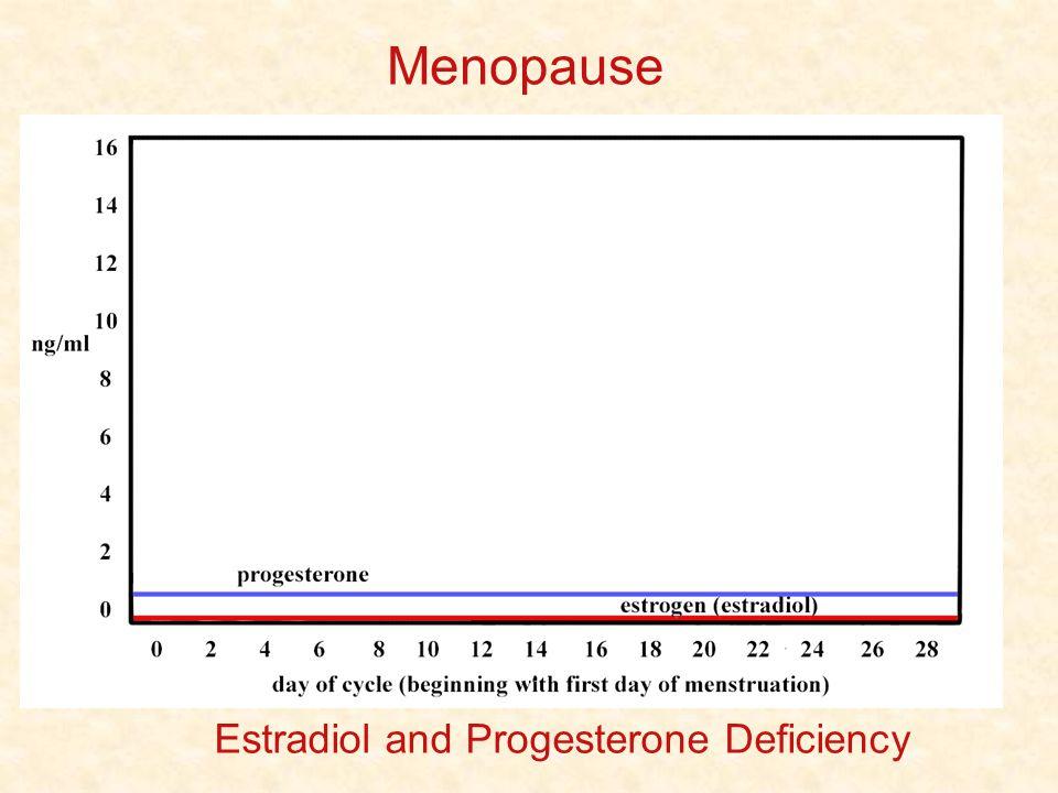 Menopause Estradiol and Progesterone Deficiency