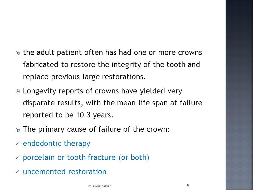Unfavorable patient anatomy : 1.