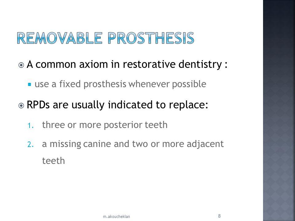 Three basic shapes of maxillary anterior teeth exist: 1.