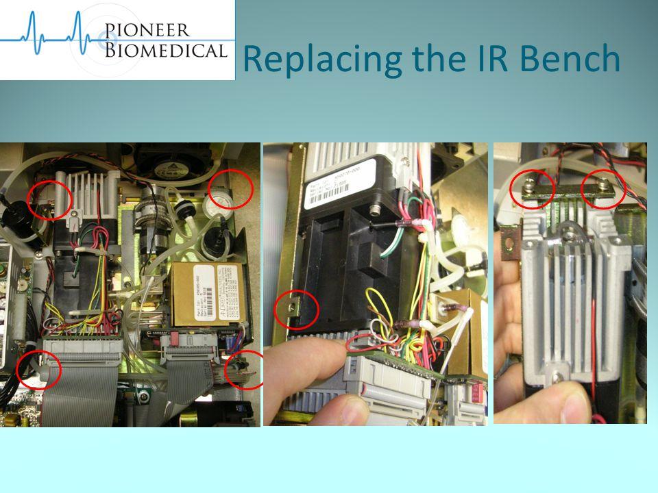 Replacing the IR Bench