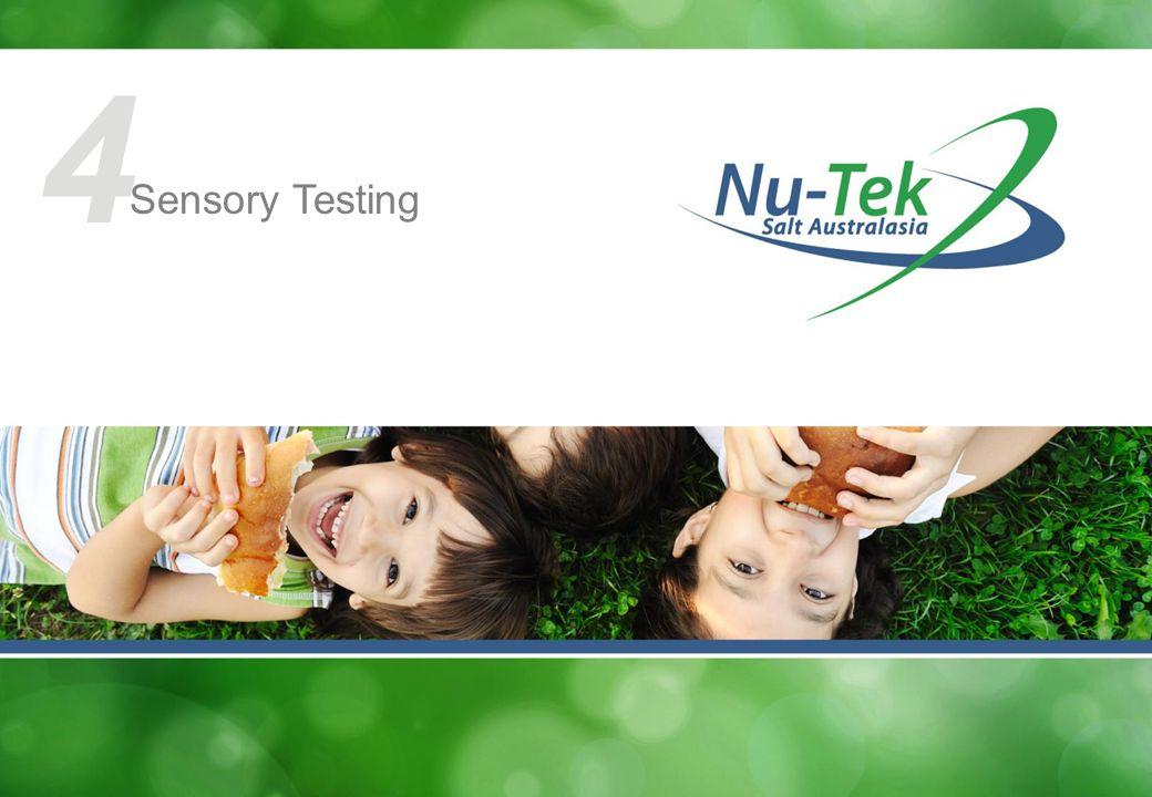 4 Sensory Testing