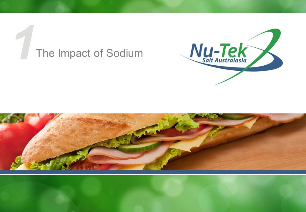 1 The Impact of Sodium