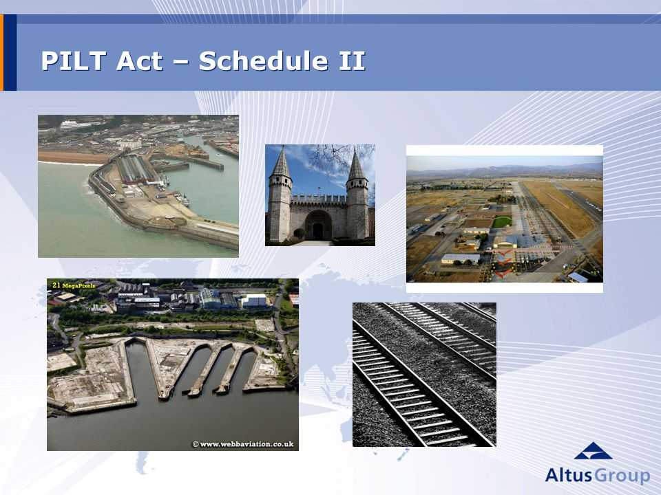 PILT Act – Schedule II