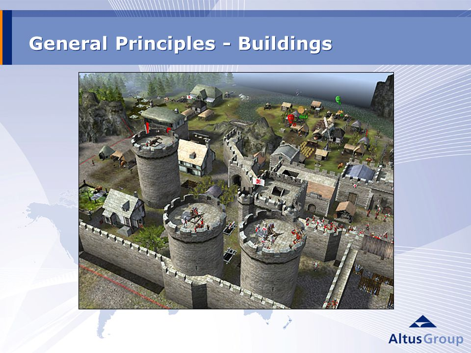 General Principles - Buildings