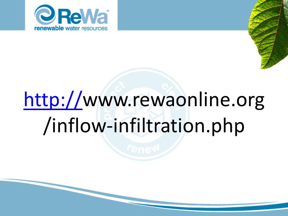 http://http://www.rewaonline.org /inflow-infiltration.php