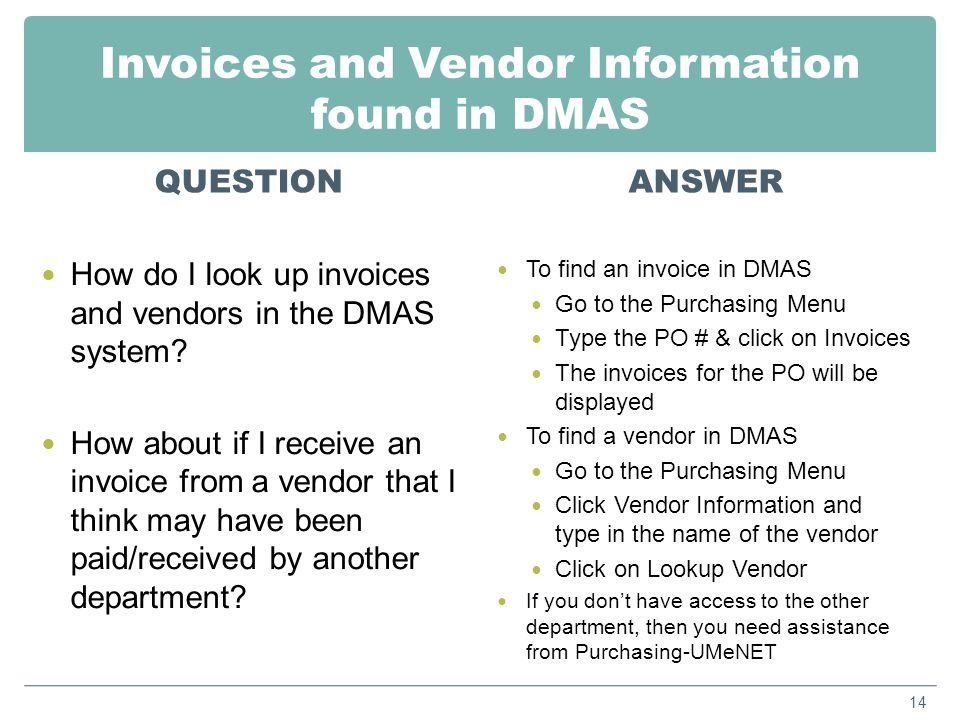 Locating Vendor Payments QUESTION Can you search for all invoices paid for a particular vendor rather than looking it up by sub- object and totaling everything up.