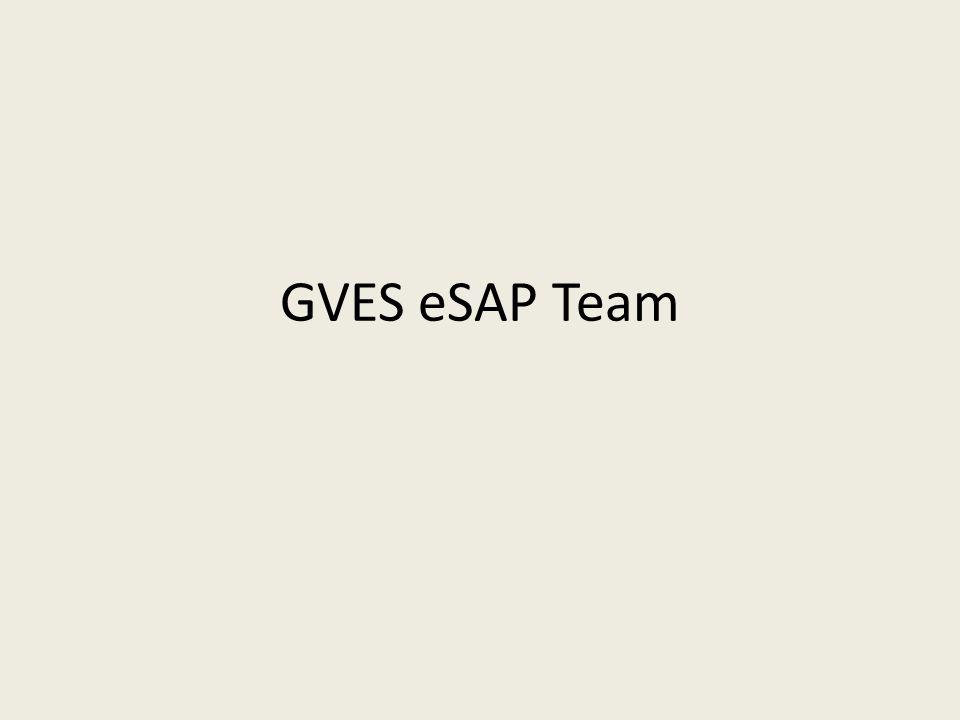 GVES eSAP Team