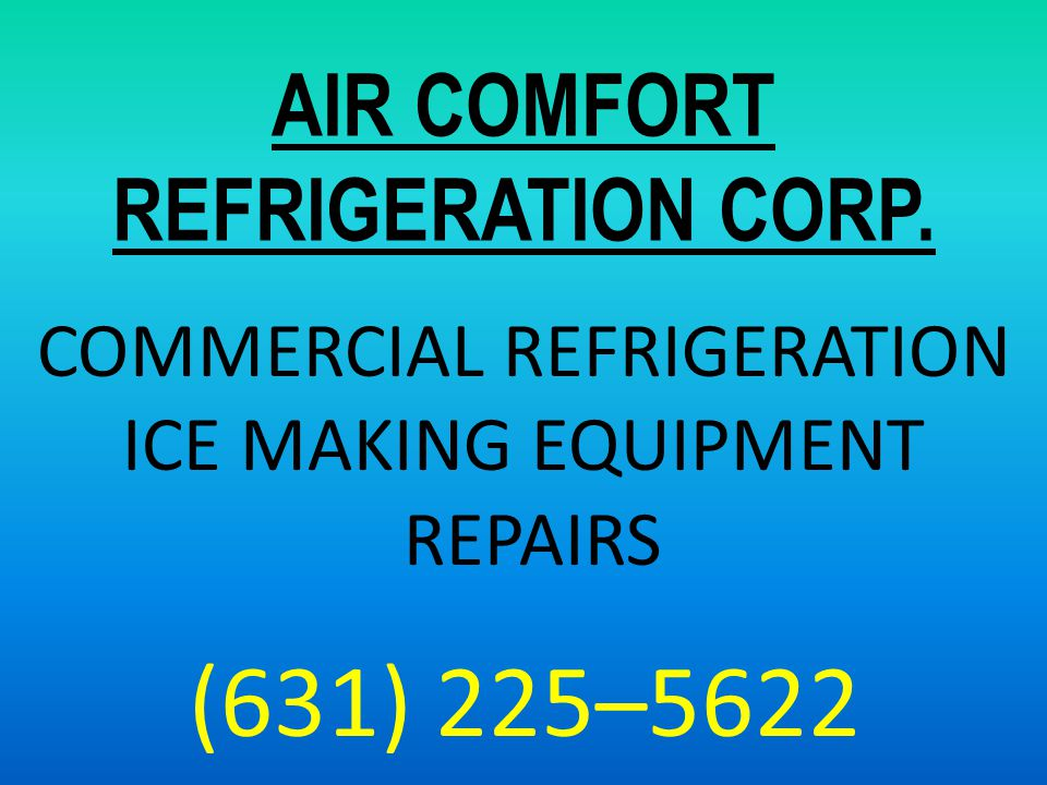 AIR COMFORT REFRIGERATION CORP.