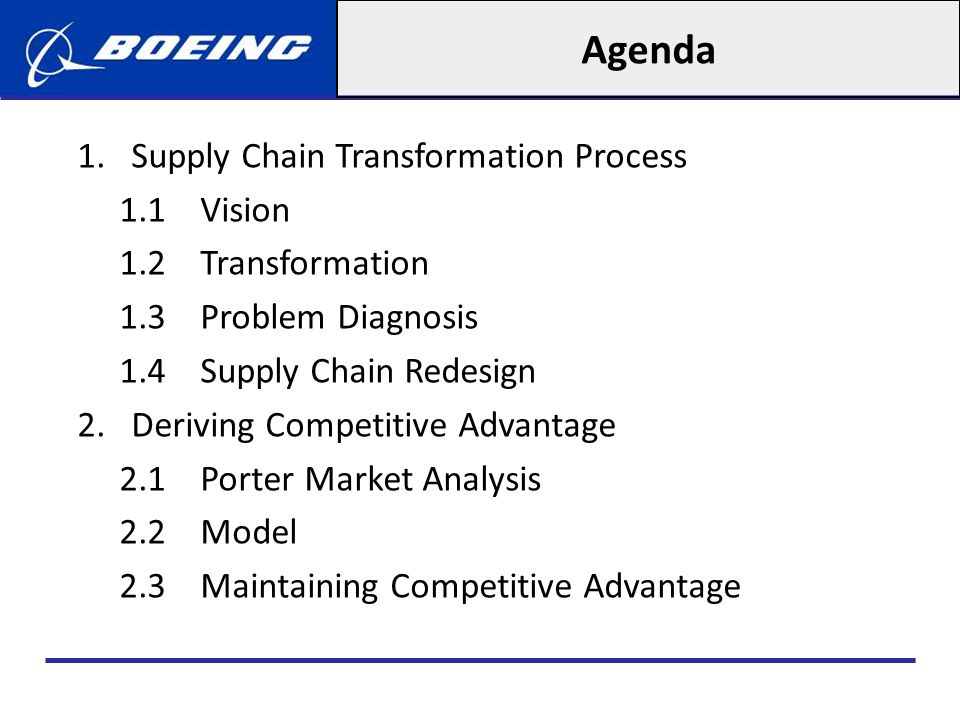 Supply Chain Redesign Put more effort in evaluating technical capabilities and supply chain expertise of potential suppliers (e.g.