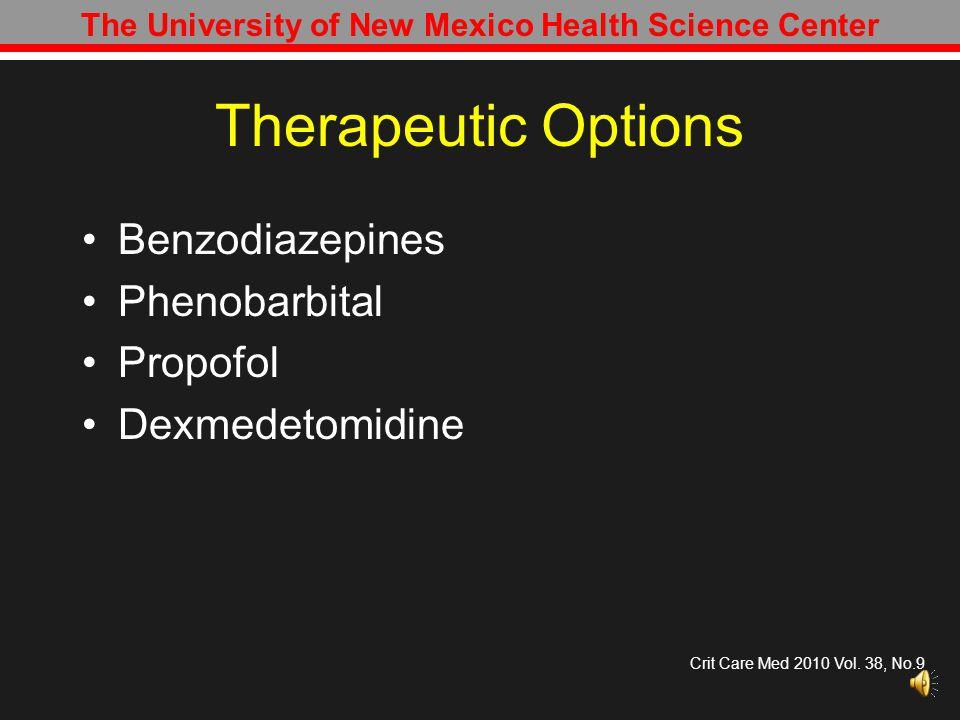 Therapeutic Goals Over-treatment vs.