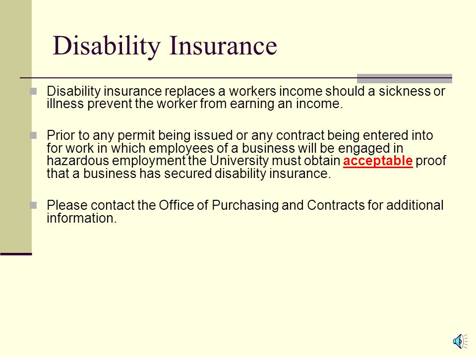 Workers Compensation Insurance Workers compensation provides medical treatment, wage replacement and permanent disability compensation to employees who suffer job-related injuries or illnesses, and death benefits to dependents of workers who have died as a result of their employment.
