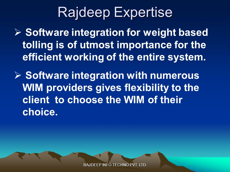 RAJDEEP INFO-TECHNO PVT. LTD.