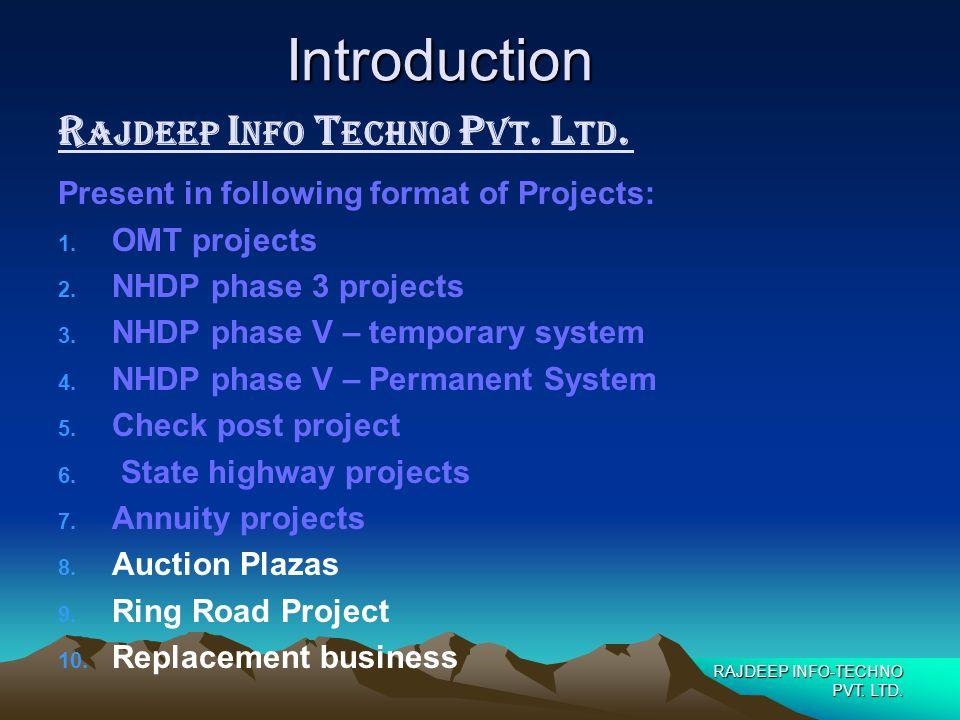 RAJDEEP INFO-TECHNO PVT. LTD. Our valued customers