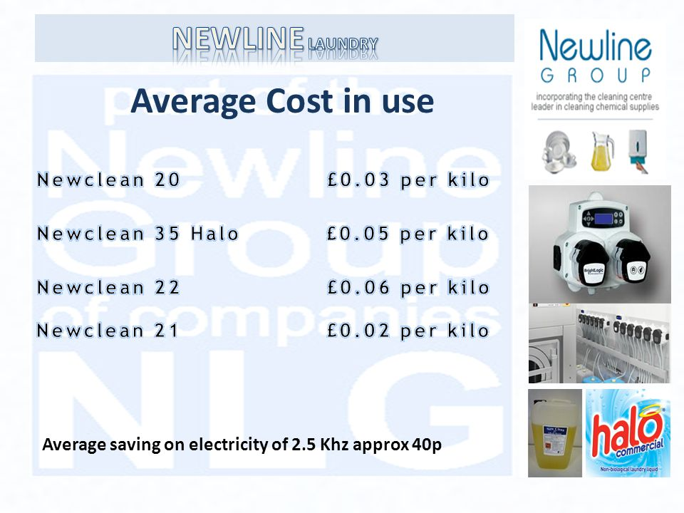 Average Cost in use Average saving on electricity of 2.5 Khz approx 40p