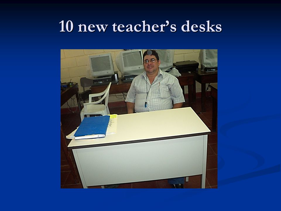 10 new teachers desks