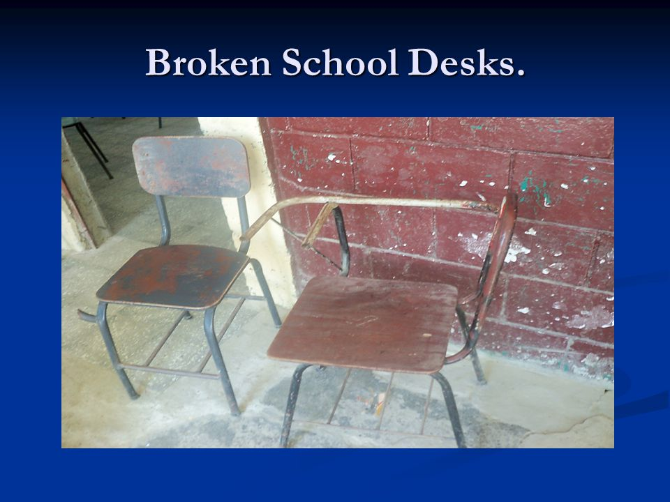 CMS Recycle Rally Continues to Help by Providing 50 New School Desks