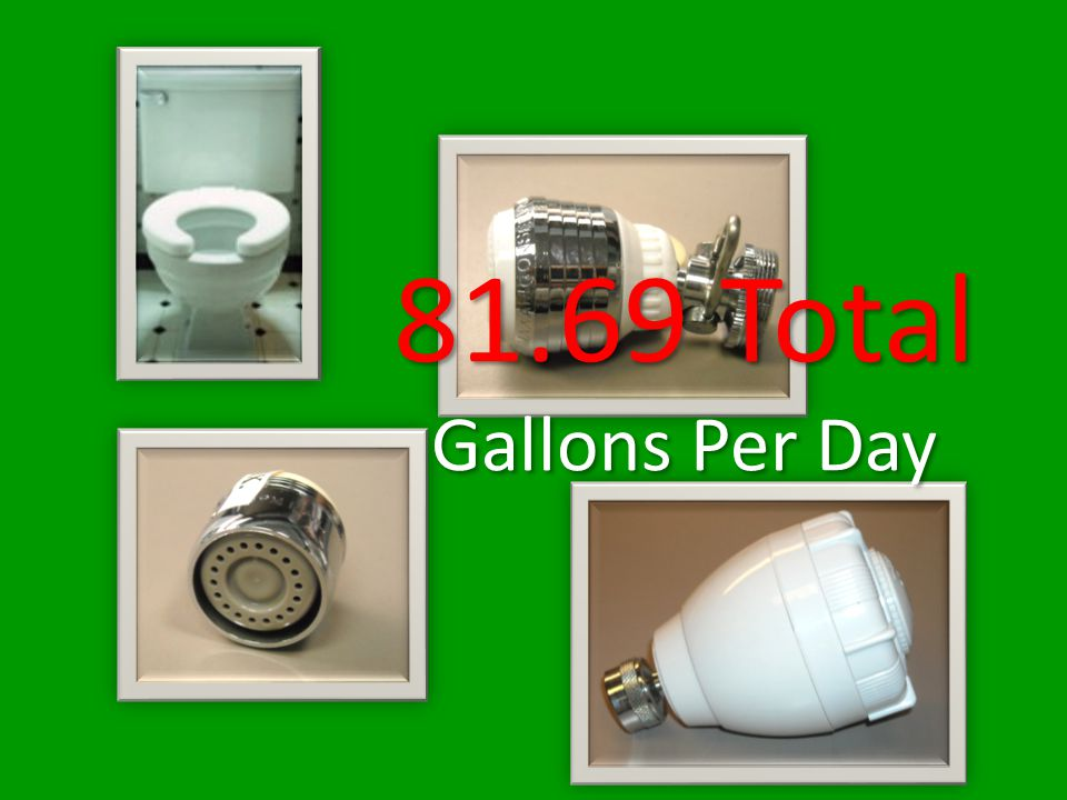 81.69 Total Gallons Per Day 81.69 Total Gallons Per Day