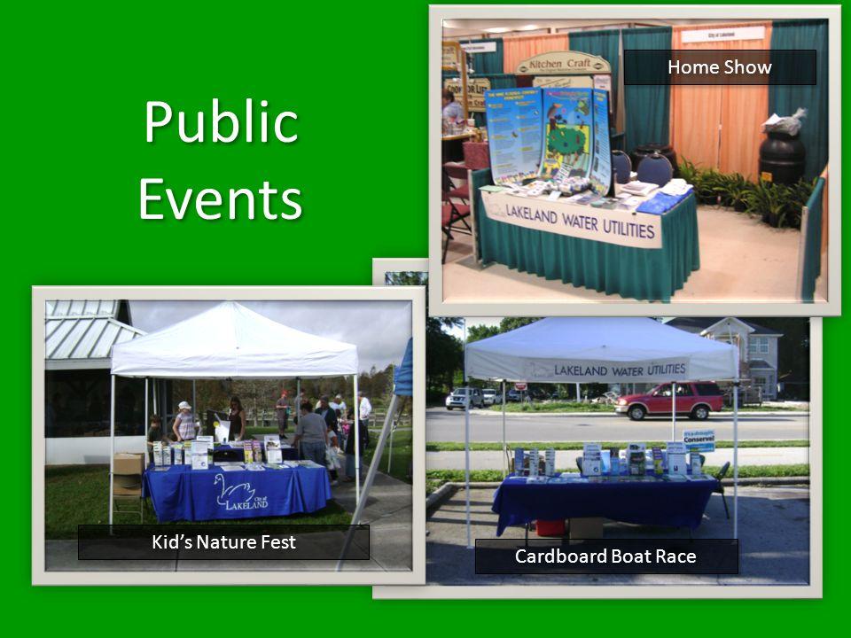 Home Show Cardboard Boat Race Kids Nature Fest Public Events Public Events