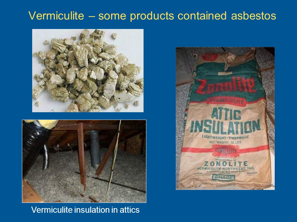 Asbestos-related diseases Amount of fibers inhaled Length of exposure Whether exposed worker smokes Age – because of delayed effects The potential for asbestos related disease depends on: Dont smoke.