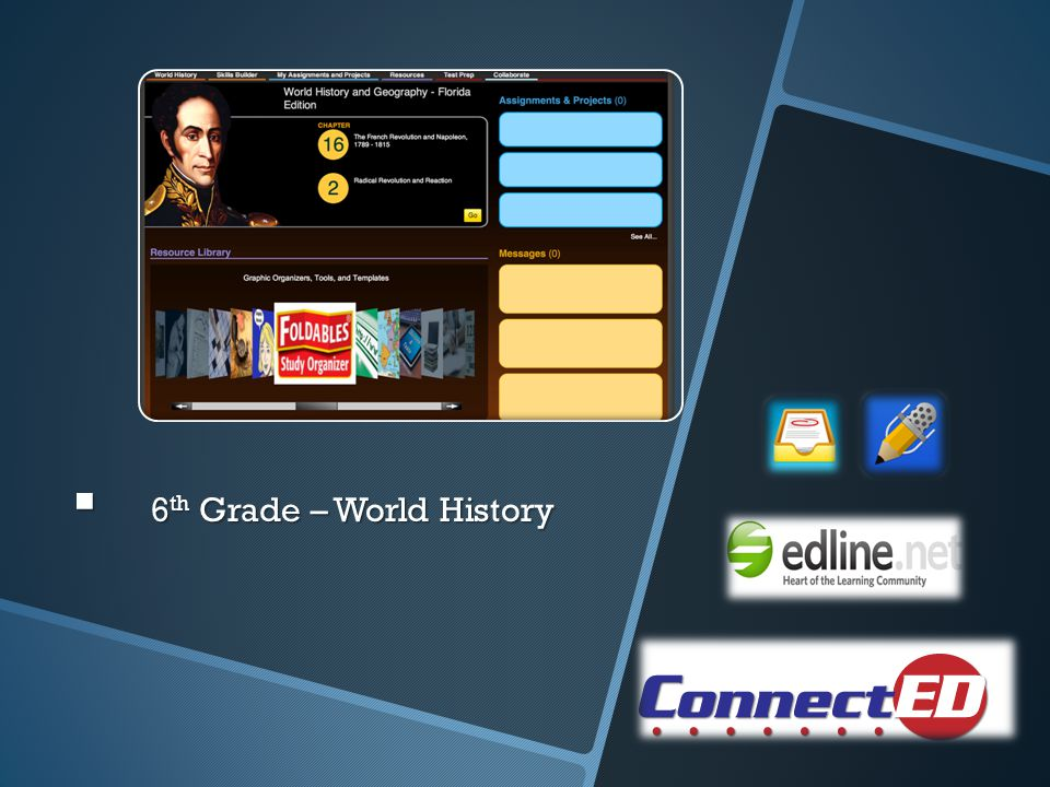 6 th Grade – World History