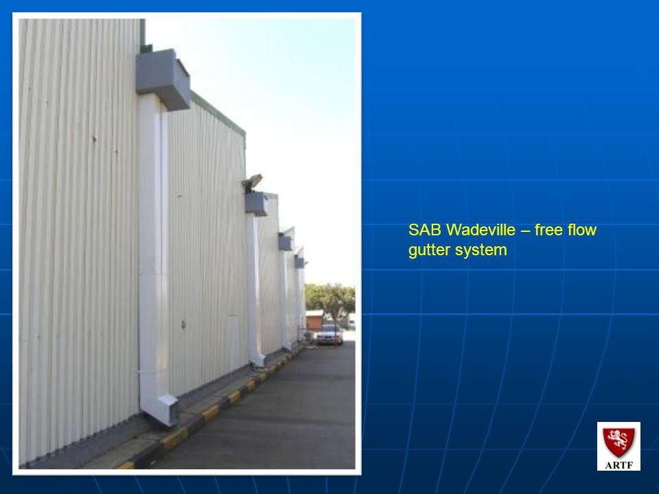 114 SAB Wadeville – free flow gutter system