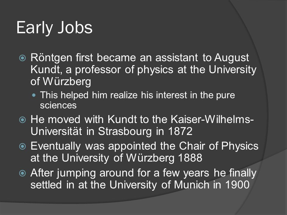 The University of Munich Unfortunately this picture is not from the correct time period
