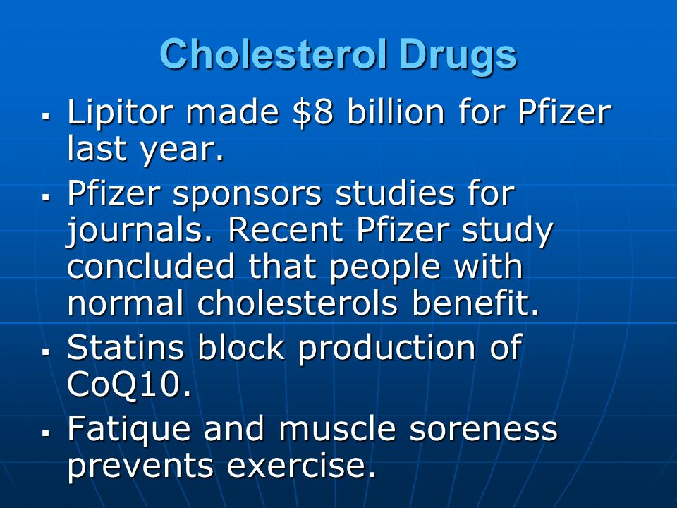 But Who Is the NCEP.8 of the 9 NCEP doctors made money from cholesterol-lowering drugs.