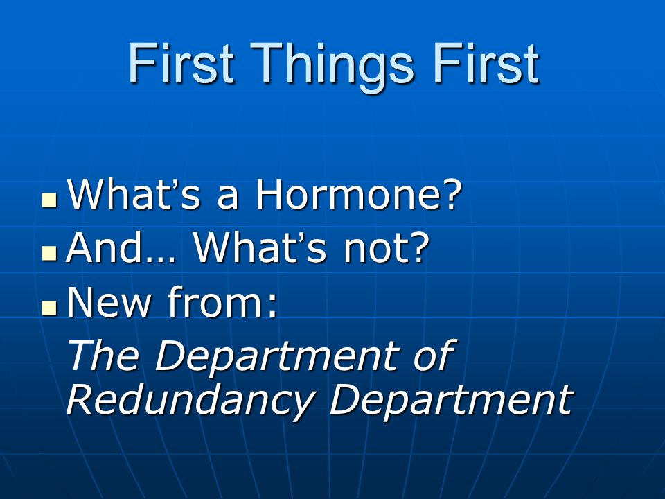 Restorative Medicine Conference Stowe, VT 2006 Integrative Natural Hormonal Modulation By Al Sears, MD