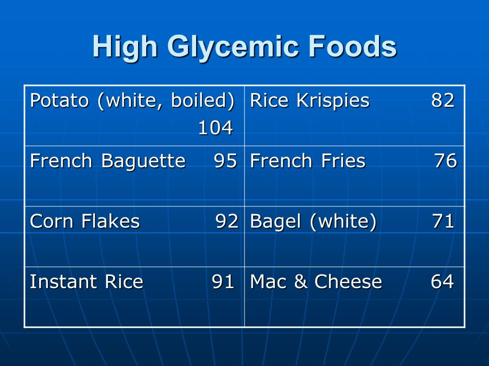 More Advantages to Low Glycemic Load Diet Low GL diet decreases abdominal obesity better than low fat diet.