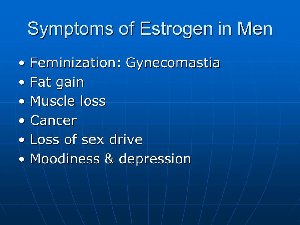 Estrogen: Reference Ranges Men: Serum - < 130 pg/mL Saliva - < 2.5 pg/mL Women: Serum – Early Follicular Phase – 70 to 400 pm/mL Late Follicular Phase – 100 to 900 pm/mL Luteal Phase – 70 to 700 pm/mL Postmenopausal - < 130 pm/mL Saliva – Pre-menopausal – 1 to 10.8 Post-menopausal – 1 to 3.2