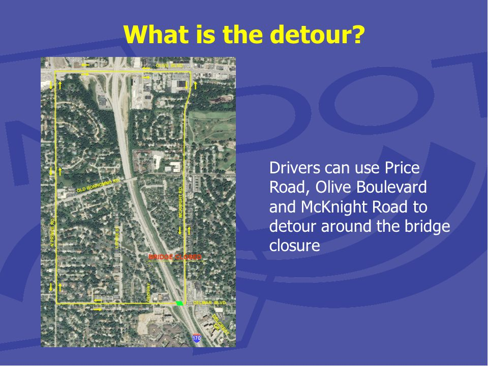 What is the detour.