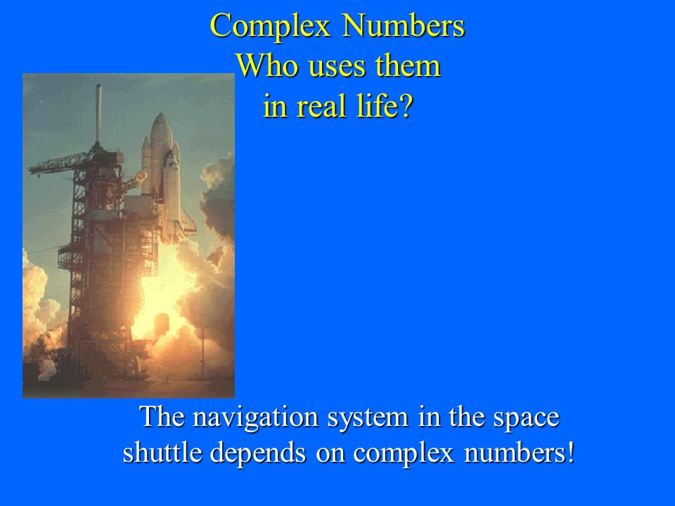 A number such as 6 is a purely real number A number such as 6 is a purely real number