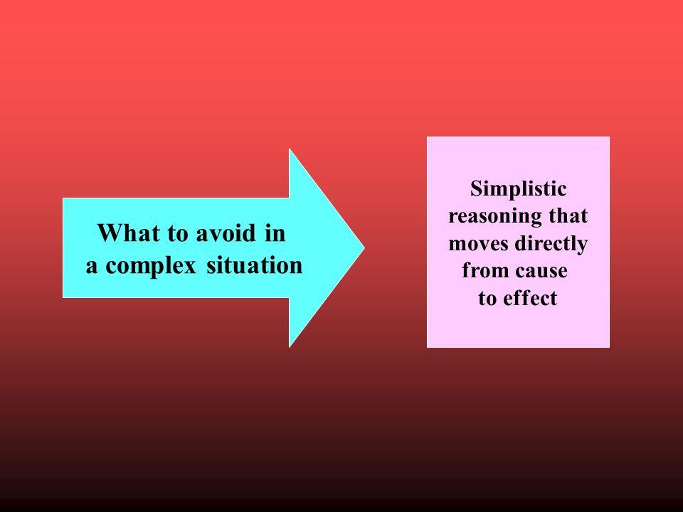 Analysis of a complex situation Inductive thinking Systemic thinking Critical thinking: I look at both sides.