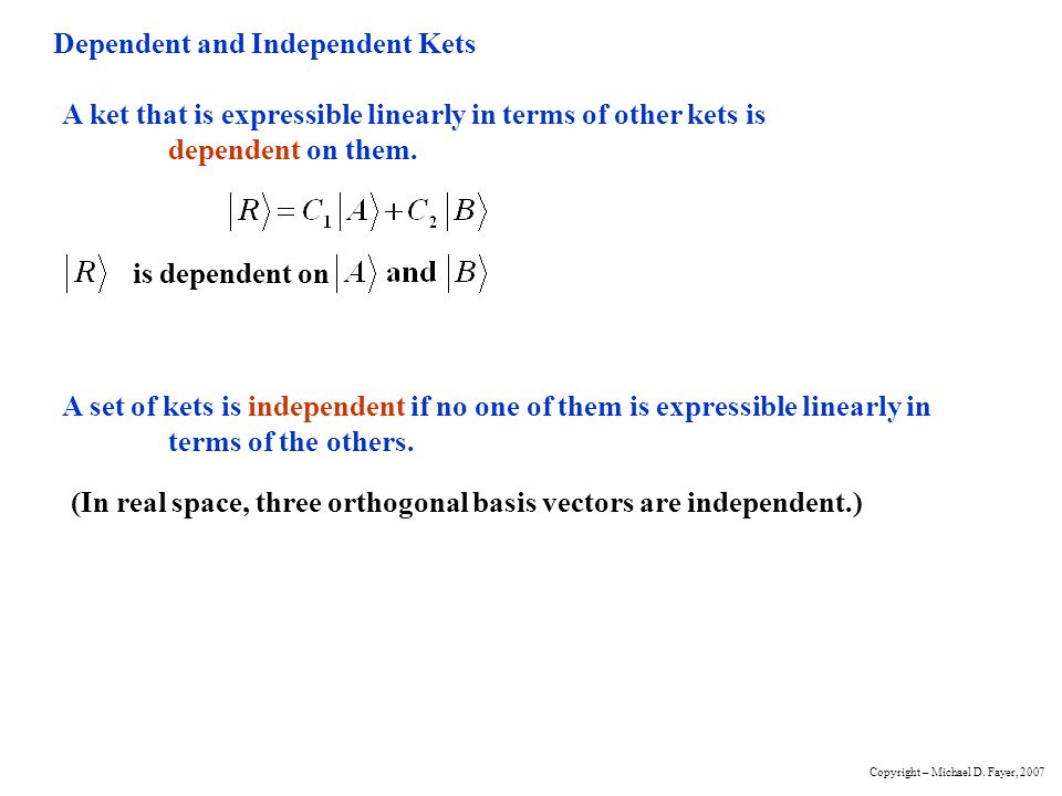 Normalization of Bras and Kets Length doesnt matter, only direction.