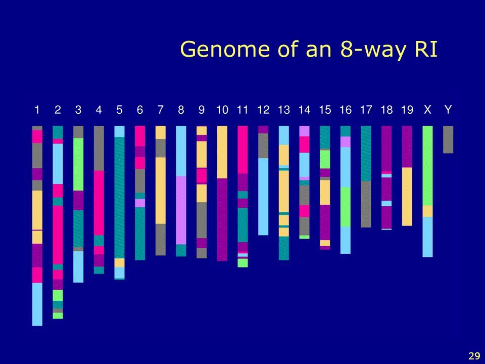 29 Genome of an 8-way RI