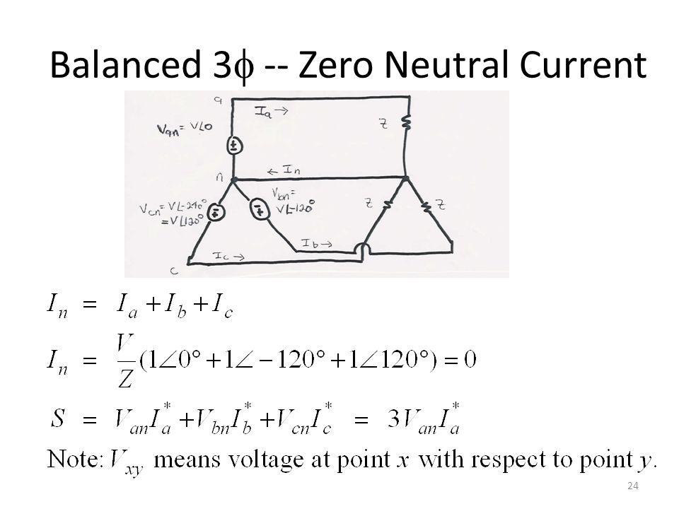 Balanced 3 -- Zero Neutral Current 24