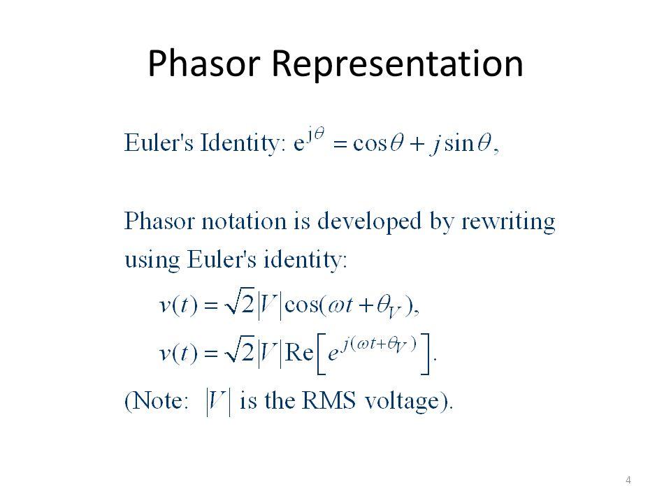 Phasor Representation 4