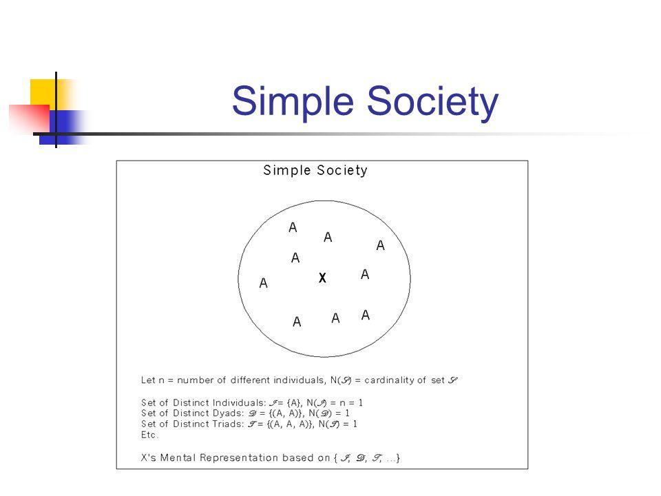 Simple Society