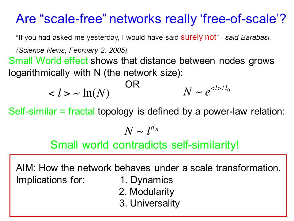 Are scale-free networks really free-of-scale.