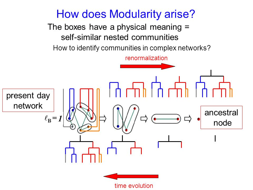 How does Modularity arise.