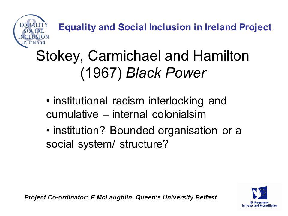 institutional racism interlocking and cumulative – internal colonialsim institution.