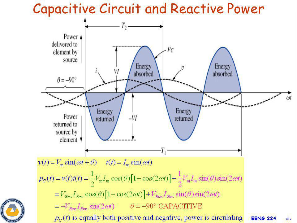 14 EENG 224 Capacitive Circuit and Reactive Power