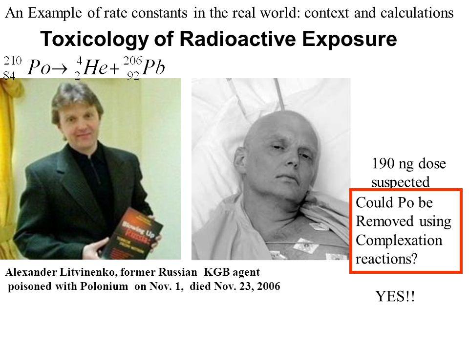 Alexander Litvinenko, former Russian KGB agent poisoned with Polonium on Nov.