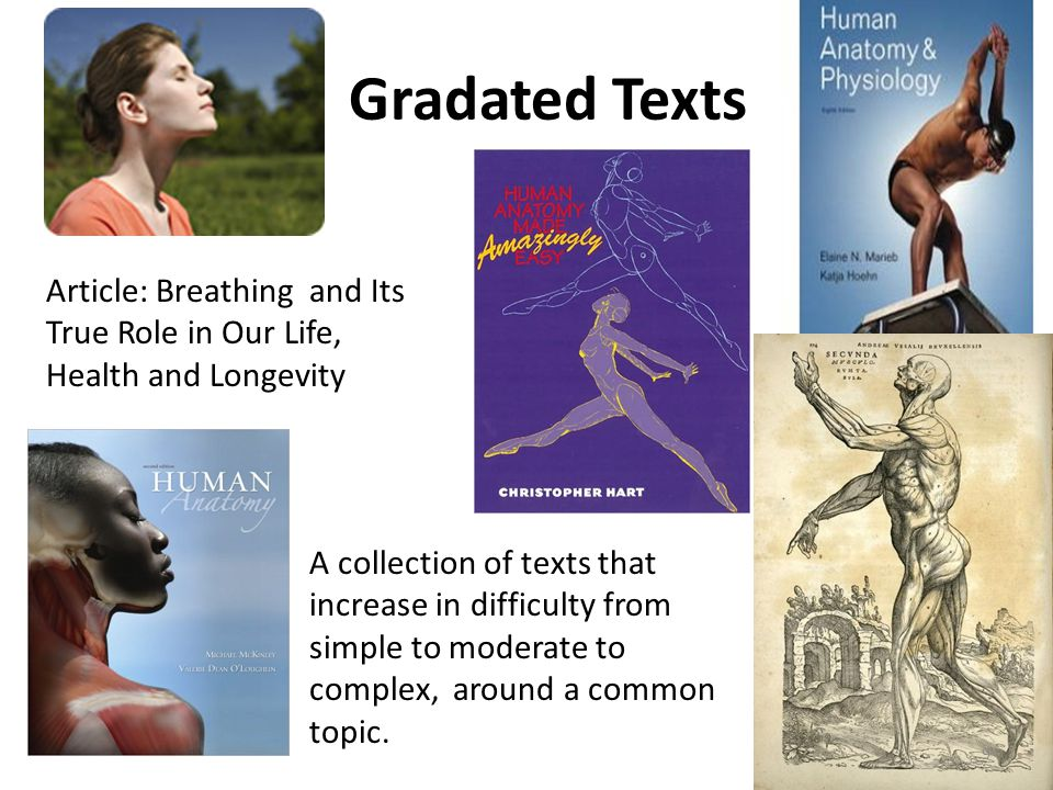 Gradated Texts Article: Breathing and Its True Role in Our Life, Health and Longevity A collection of texts that increase in difficulty from simple to